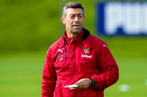 rangers boss pedro caixinha's five captains idea inspired by brazil world cup legend big phil