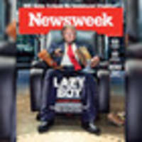 Newsweek cover page calls Donald Trump 'lazy boy'