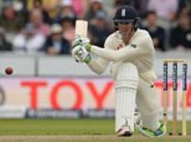 keaton jennings may keep england place against west indies