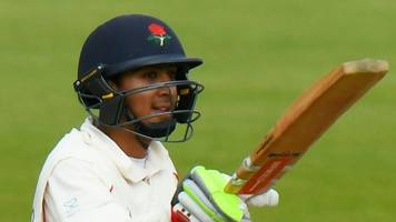 hampshire v lancashire: haseeb hameed's gritty half-century gives visitors control