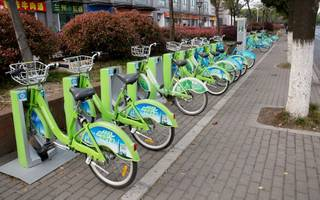 bike-sharing firms are now raising tens of millions from the stock market