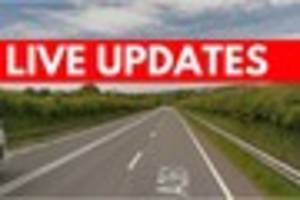 North Devon Link Road closed after crash between car and lorry -...