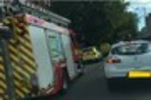 thirteen treated after severe flat fire in wednesbury road,...