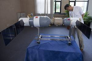 Out-Of-Control Chinese Space Station Expected To Re-Enter Atmosphere Within Months