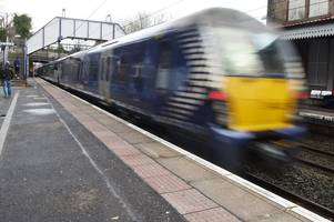 labour party claims scotrail trains fail to arrive on time at nearly 60 per cent of stations