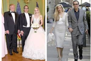 scottish woman married to donald trump's treasury secretary enjoys honeymoon in edinburgh