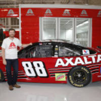 Dale Earnhardt Jr.'s Last NASCAR Cup Series Car Revealed Live on QVC from Axalta's Customer Experience Center