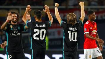 Real Madrid outclass Manchester United
