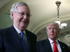 mcconnell: trump is frustrated with congress because he 'has not been in this line of work before'