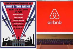 White Supremacist Rally Goers Get Airbnb-Booted