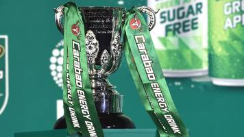 efl cup game abandoned because of rain - in august