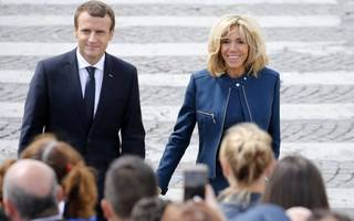 "brigitte macron won't be france's ""first lady"""