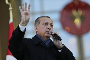 Turkish President Accuses Germany Of Aiding Terrorists