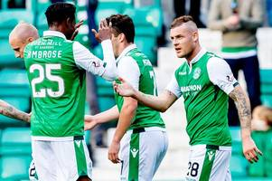 anthony stokes hits first hibs goals of his third stint at easter road to see off ayr 5-0 - betfred cup roundup