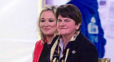 revealed: the personal side to arlene foster and michelle o'neill's relationship