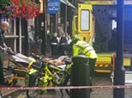 man is stabbed in the neck in central london attack