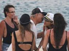 philip green heads to greece while his daughter parties