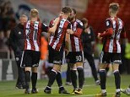 carabao cup round-up: ched evans inspires on second debut
