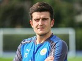 leicester new signing harry maguire dreaming of england