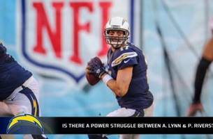is there a power struggle between philip rivers and anthony lynn?