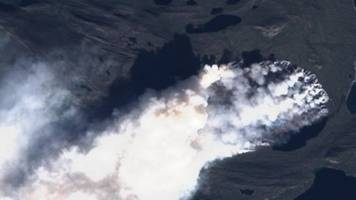 'unusual' greenland wildfires linked to peat