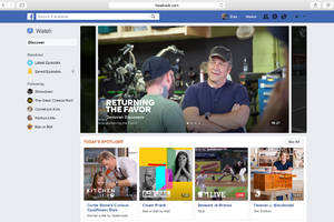 Facebook introduces Watch, its redesigned tab for video programming