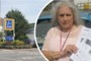 a diabetic dover aldi shopper thinks she'll have to take a...