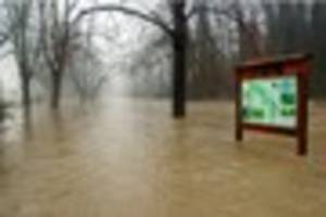flood warnings issued for parts of surrey including dorking,...