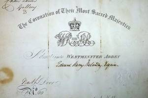 julia's house discover 186-year-old royal wedding invite