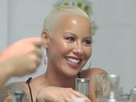 amber rose's not taking ex-mother-in-law $50,000 threat lightly, ready for all-out war