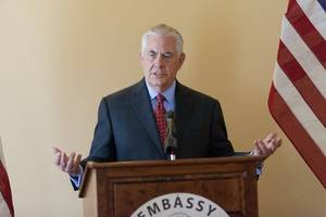 Rex Tillerson says there is no imminent threat from North Korea