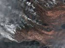 largest ever wildfire in greenland seen burning from space