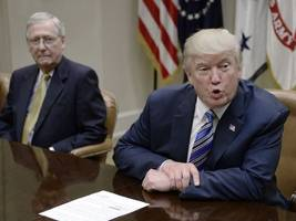 trump attacks mitch mcconnell again, tweets he should 'get back to work'