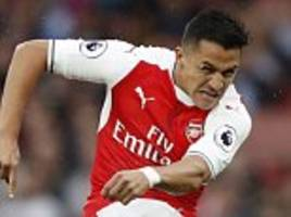 arsenal offer alexis sanchez new £300,000-a-week contract