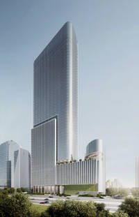 mori building launches construction of office tower in central jakarta