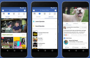 Facebook takes on YouTube with Watch, its new episodic video service