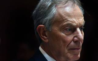 """tony blair says he was """"briefly a trot"""""""