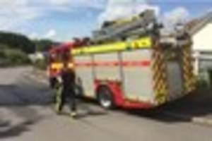 'Severe fire' rips through North Devon house destroying bedroom