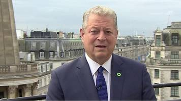 al gore on the paris agreement, trump and climate change