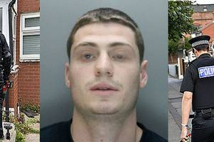 gangland home raid in liverpool as police probe links to scotland's illegal drug trade