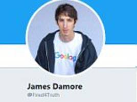 fired memo google engineer has a new twitter profile