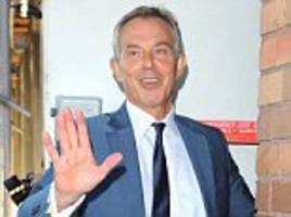 i really wanted to be an actor, says tony blair