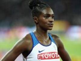 dina asher-smith finishes fourth in bid for 200m title