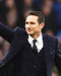 Frank Lampard backs Chelsea to beat Manchester City to Premier League title