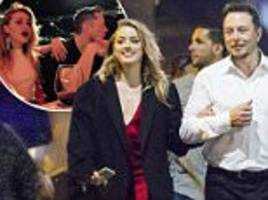 amber heard and elon musk release joint statement on split