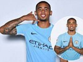 gabriel jesus on aguero, life as a brazilian in manchester