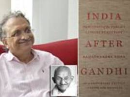 ramachandra guha on his landmark book 'india after gandhi'