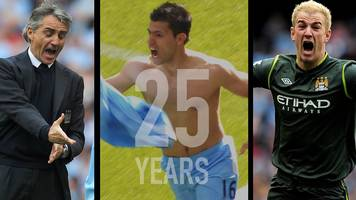 Aguero's injury-time title winner - the Premier League's most dramatic moment?