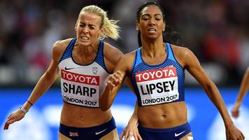 world athletics championships 2017: lynsey sharp disqualified in 800m semi-finals