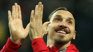 Zlatan Ibrahimovic: Manchester United in talks to re-sign striker after recovery from injury